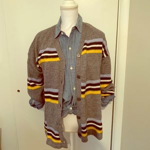 NWT! Preppy striped cardigan from Nordstrom size S